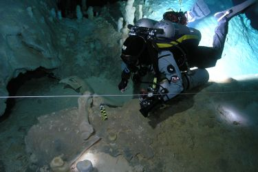 TDI Cave Surveying Diver